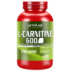 Activlab L-Carnitine 600 Fat Burners Amino Acids