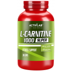 Activlab L-Carnitine 1000 Fat Burners Amino Acids