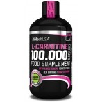 Biotech Usa L-Carnitine 100k Fat Burners Amino Acids