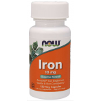 Now Foods Iron Vitamins & Minerals