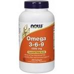 Now Foods Omega 3-6-9 Рыбий Жир, Льняное Масло И Омега