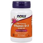 Now Foods Vitamin D-3 2000 IU