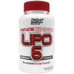 Nutrex Lipo-6 Tauku Dedzinātāji