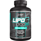 Nutrex Lipo-6 Black Hers Tauku Dedzinātāji