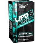 Nutrex Lipo-6 Black Hers Ultra Concentrate Tauku Dedzinātāji