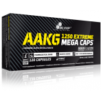 Olimp AAKG Extreme 1250 Mega Caps L-Arginine Nitric Oxide Boosters Pre Workout & Energy Amino Acids