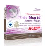 Olimp Chela Mag B6 Magnijs Minerāļi Vitamīni Un Minerālvielas