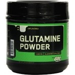 Optimum Nutrition Glutamine Powder L-Glutamīns Aminoskābes