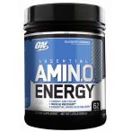 Optimum Nutrition Amino Energy BCAA Kofeīns Aminoskābju Maisījumi Aminoskābes Treniņa Laikā
