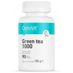 OstroVit Green Tea 1000 Garšaugi Antioksidanti Tauku Dedzinātāji