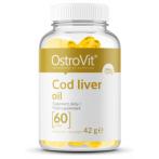 OstroVit Cod Liver Oil Zivju Eļļa, Lineļļa Un Omega Taukskābes Vitamīni Un Minerālvielas