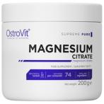 OstroVit Magnesium Citrate Minerāļi Vitamīni Un Minerālvielas