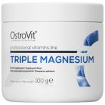 OstroVit Triple Magnesium Magnijs Minerāļi Vitamīni Un Minerālvielas