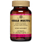 Solgar Female Multiple Multivitamīni Sievietēm