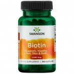 Swanson Biotin For Women Vitamīni Un Minerālvielas