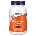 Now Foods Alpha Lipoic Acid 250 mg Контроль Веса