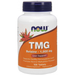 Now Foods TMG Trimethylglycine 1000 mg Aminoskābes