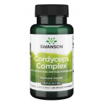 Swanson Cordyceps Complex with Reishi and Shiitake Mushrooms