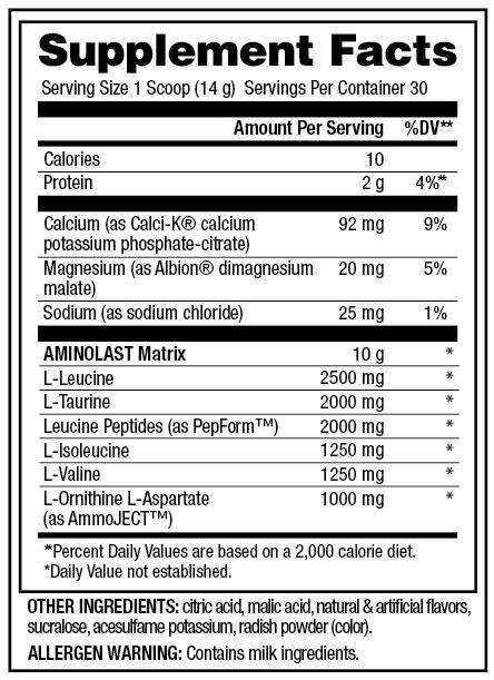 Gaspari Nutrition Aminolast Intra Workout 420 g | Sport Supplements