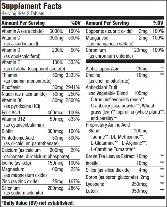 """Résultat de recherche d'images pour """"multivitamin for men biotech"""""""